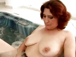 Mature Natural Pool Redhead