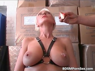 blond older angel here huge bossom is dominated