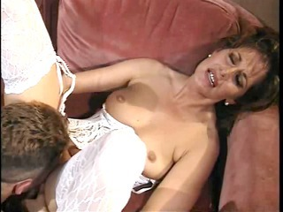 Lingerie Licking Mature Mom Old and Young Stockings Vintage
