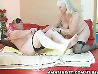 chubby fresh woman sucks and bangs on her bunk