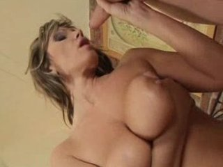 gorgeous lady gets fucked and facial