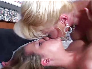 Daughter Kissing Lesbian Mature Mom Old and Young Teen