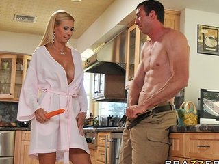 slutty milf gorgeous tyler invites landscaper inside for rough-sex