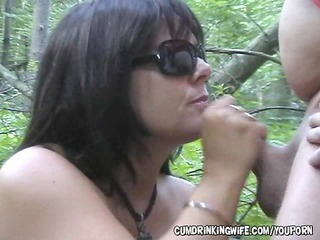 Amateur Handjob Mature Older Outdoor Small cock Wife
