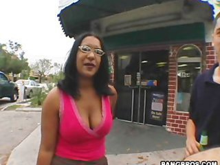 Big Tits Glasses Indian  Natural Outdoor Public