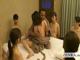 nudist bondage japan slaves work on their granny masters