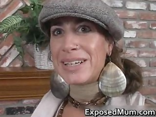 Mature Mom Piercing