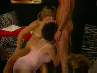 Blowjob Daughter Family Lingerie Mom Old and Young Threesome Vintage