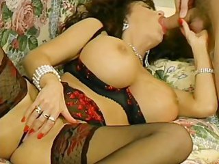 Big Tits Blowjob Lingerie Mature  Mom Pornstar Stockings