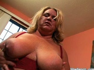 awesome bbw milf own drilled