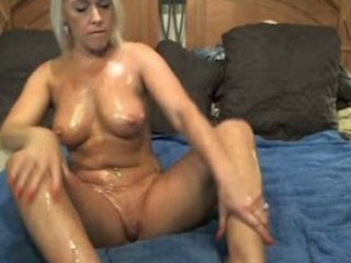 Mature Oiled Solo