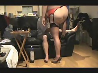 plumperty in stunning lingerie pierced from behind older older pierce elderly granny sperm cum