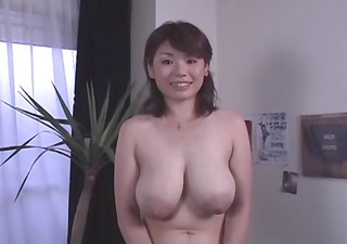 Asian Big Tits Cute Japanese  Mom Natural Nipples