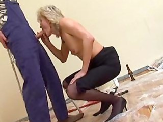 mature surrounding nylons gangbangs the decorator