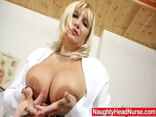 Big Tits Doctor  Natural Stripper Uniform