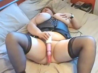 Amateur  Big Tits Corset Homemade Latex Masturbating Mature Stockings Toy