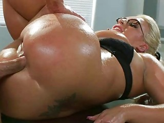 big bossom woman sadie swede oily anal drilled