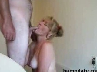 Amateur Blowjob Cumshot Homemade  Swallow Wife