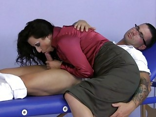 Blowjob Clothed  Mom Old and Young