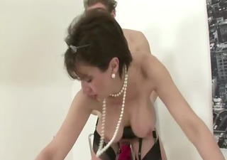 mature stocking fetish slut hard fucking