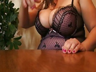 Amazing Big Tits Lingerie