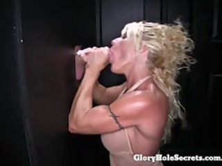 Blowjob Gloryhole  Muscled