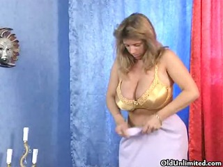 breasty aged housewife going eager