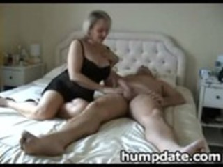 breasty older wife with precious big ass rides cock