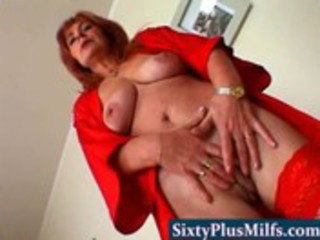 Mature Mom Natural Pussy Redhead  Stripper