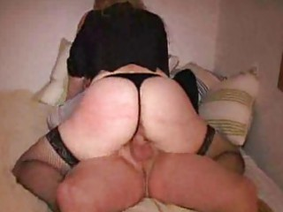 Amateur Ass Clothed Hardcore Homemade Riding Wife