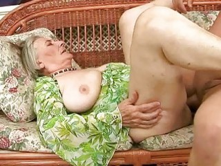uncompromisingly old granny acquires fucked hard