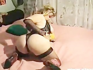 Amazing Ass Lingerie  Solo Stockings Vintage