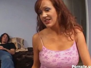 lady redhaired and her vaginal adventures