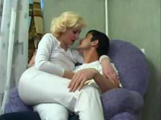 Amateur Blonde Mature Mom Old and Young Russian