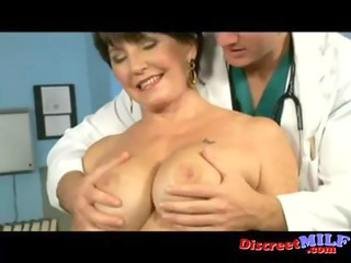 mature cougar acquire fucked at the doctors office