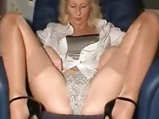 Amateur European German Homemade Lingerie Mature Panty Solo Stockings