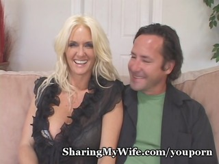 Amazing Cuckold Cute  Wife