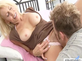 Clothed Licking Mature Mom Old and Young