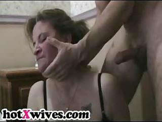 lewd whilom before wife receives coarse mouth fuck