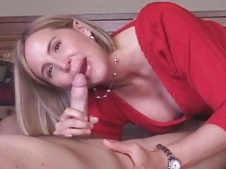 older wife receives creampie