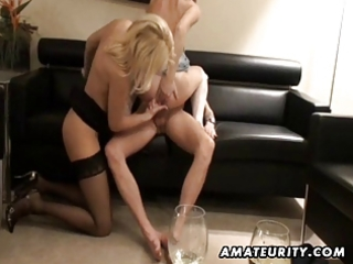 Stockings Threesome