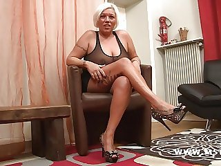 Amazing Big Tits Casting Legs  Mom Tattoo