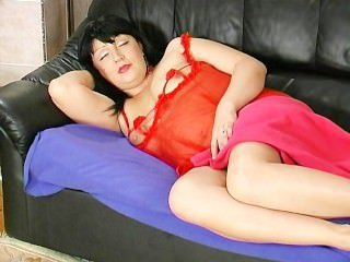 Lingerie Mature Mom Sleeping