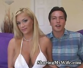Amazing Big Tits Cuckold Cute  Wife