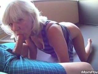 Amateur  Blowjob Mature Mom Old and Young Pov