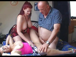 Big Boobs;Creampie;MILFs;Old+Young;Threesomes