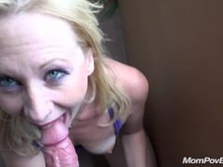 Blowjob Mature Mom Pov