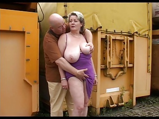 Amateur Big Tits Chubby Mature Natural Older Outdoor