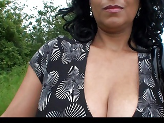 Big Tits British European  Natural Outdoor