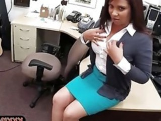 Office Secretary Skirt Stripper